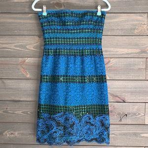 NWOT BCBG Halter Dress size 4